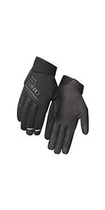 cascade w winter bike gloves