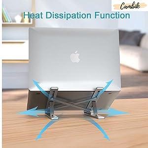 laptop cooler desk table cooling pad black modern stand portable mini standup computer tablet smart