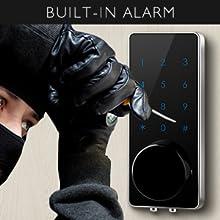 smart lock  AKASO Smart Lock Touch Screen Keypad Deadbolt APP Code Entrance Smart Electronic Digital Door Lock with Key Remote Keypad for Home Hotels Apartment 3129de1a de49 4b8e 830c d24336adb5d2