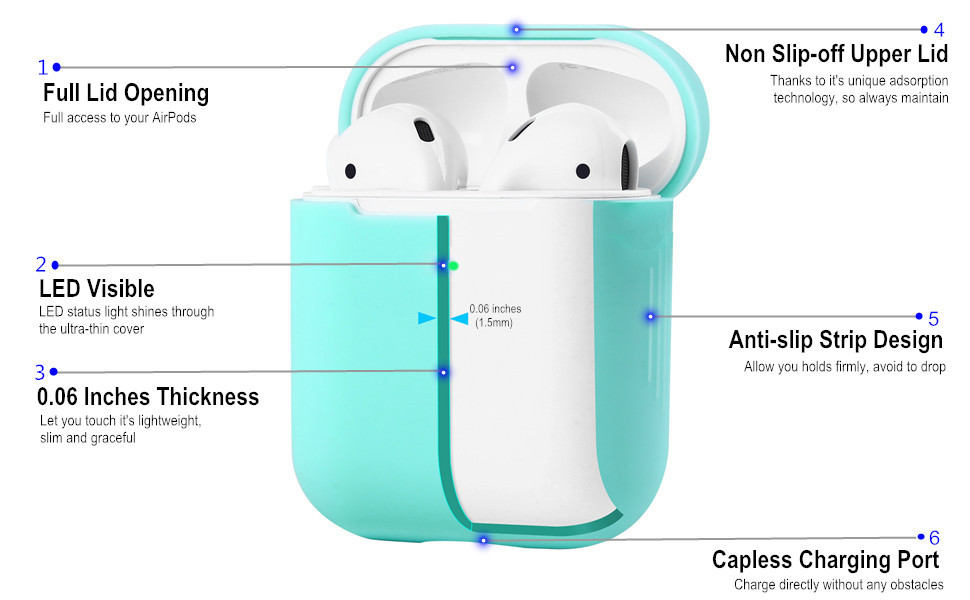 eyekop airpods case cover skin protector