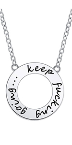 keep going necklace