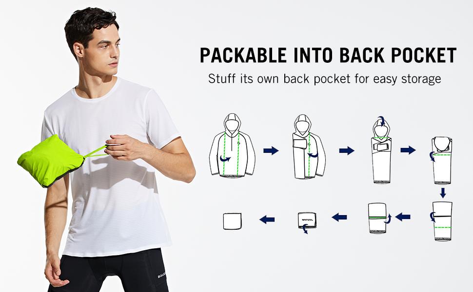 packable to back pocket