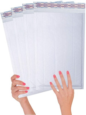 Ice Blue Bubble mailers