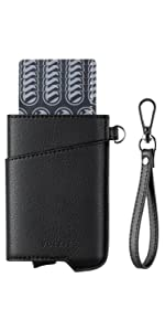 card holder with keychain
