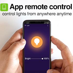 app remote control bulb