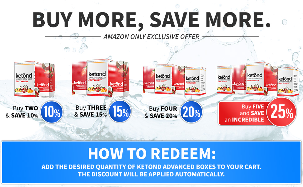 Buy More, Save More- Amazon Exclusive Offer