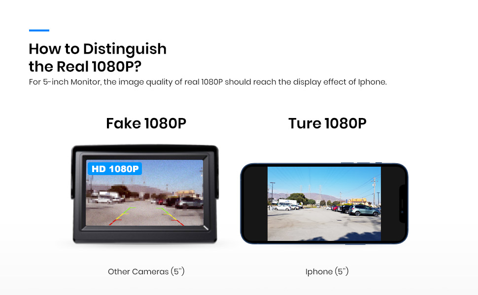 How to distinguish the real 1080P.