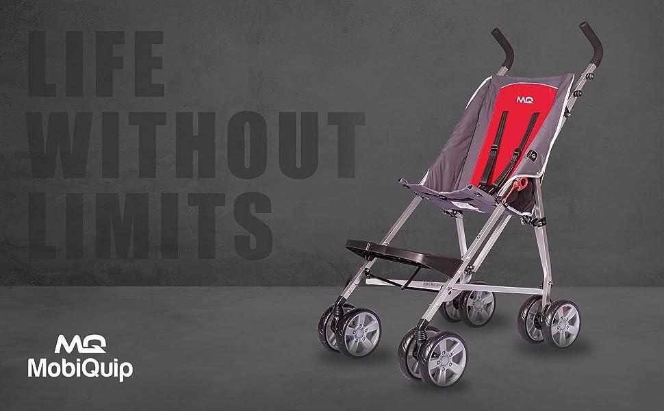 mobiquip elise stroller, pushchair for special needs children