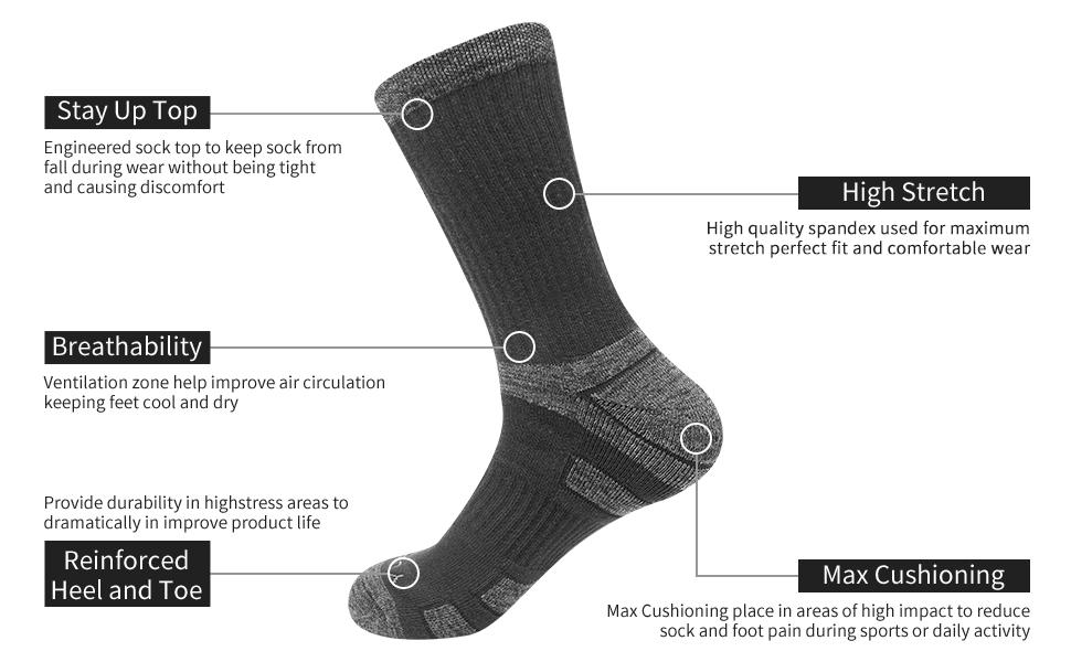mens casual socks