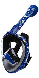 Seavenger snorkeling full face mask nautilis