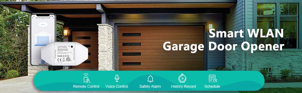 Smart WLAN garage door opener