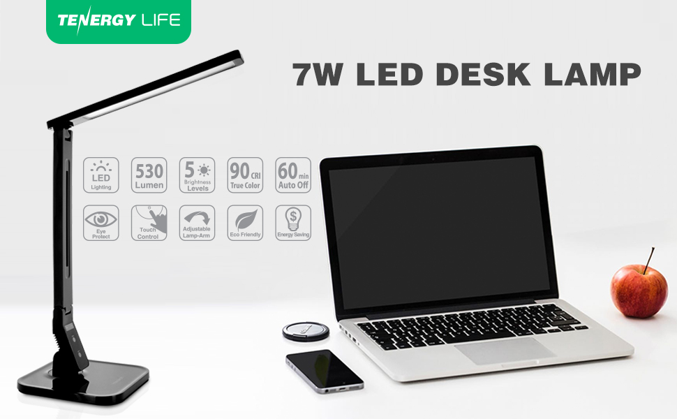 Tenergy LED energy efficient led desk lamp