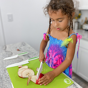 zulay kitchen safety knives knife set for kids children