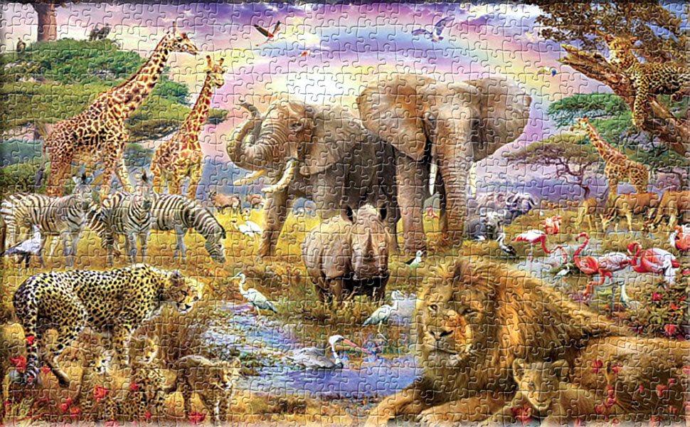 1000 Piece Jigsaw Puzzle