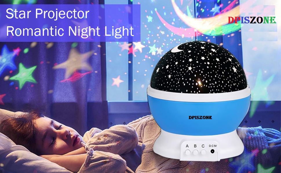 star light night master projector night lamp bulb for home decoration Colorful romantic Gift forbaby