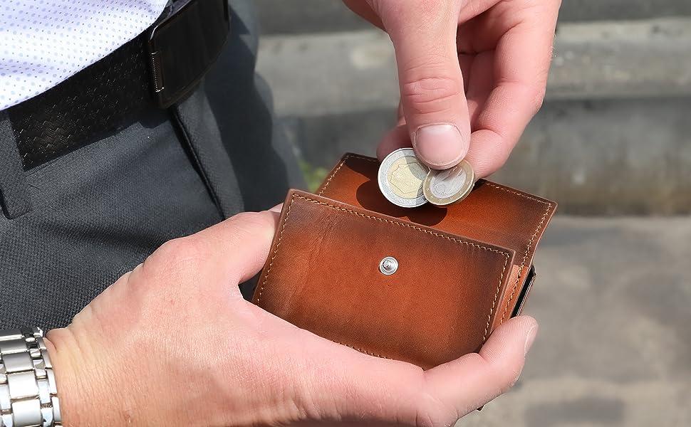 Münzfach, Kleingeldfach, Extra Fach