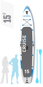 Bluefin Cruise Tandem Multi-Person SUP 15'