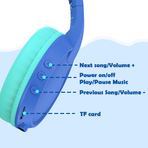 headphones for kids with microphone