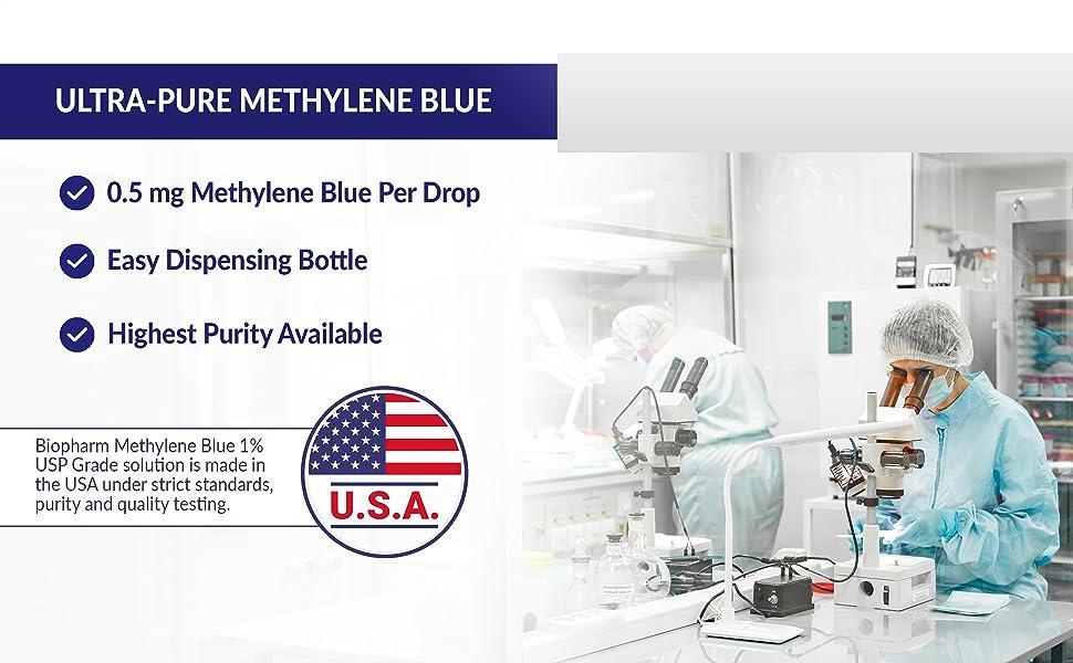 methylene blue food grade, methylene blue, methylene blue for fish, methylene blue stain
