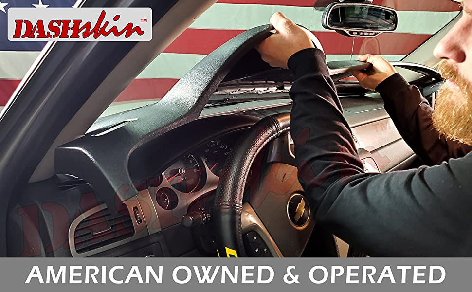 american made dash cover