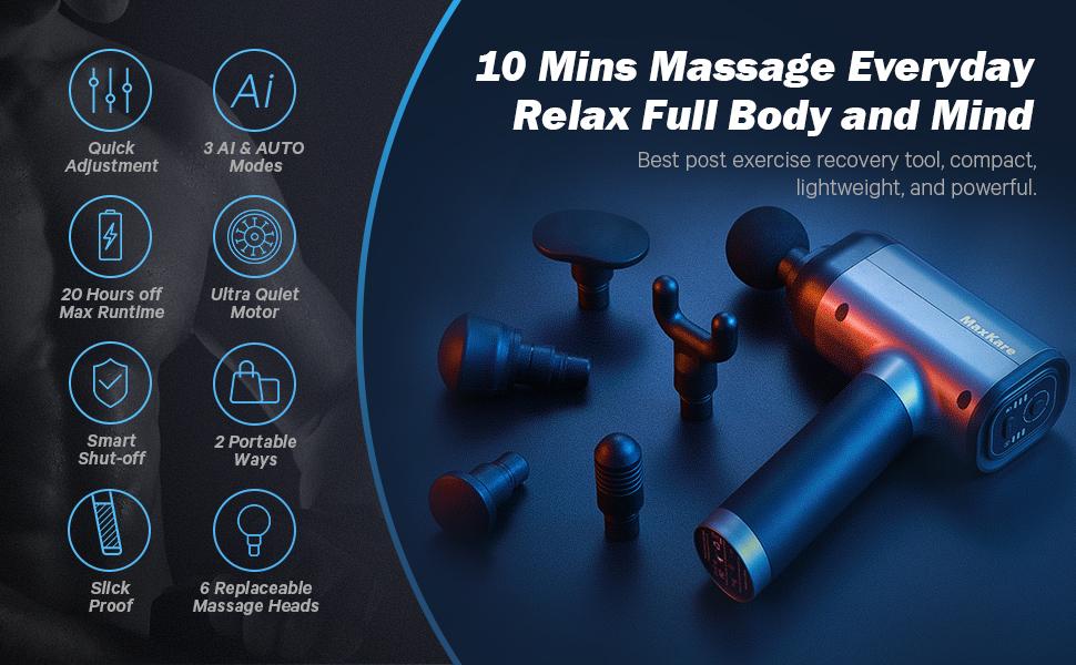 Maxkare massage gun