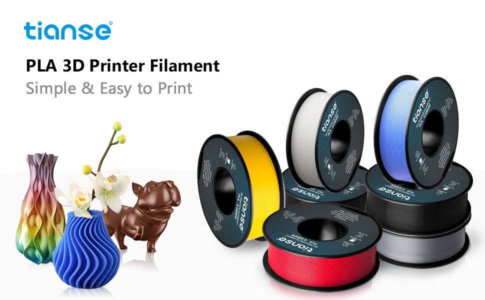 tianse pla filament for 3d printing
