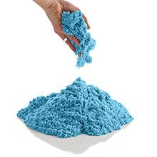 CoolSand Blue Moldable Kinetic Sand