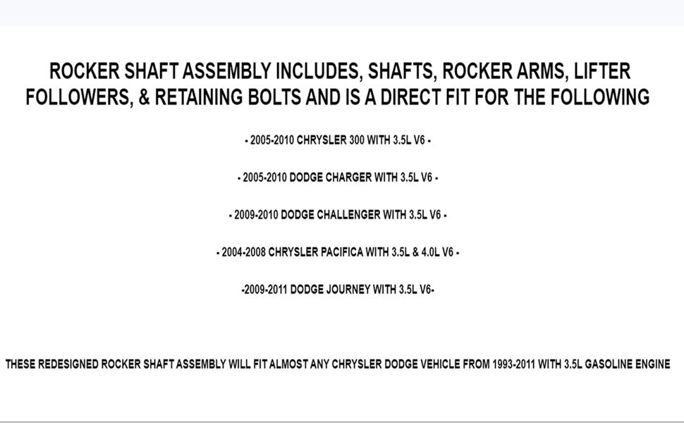 Rocker Arm Shaft Lifter