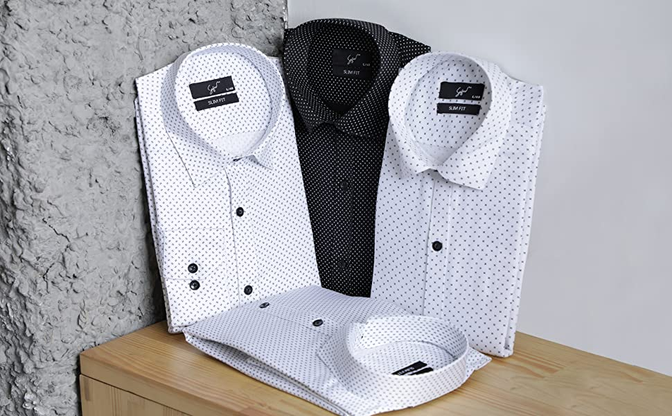 casual luxury white shirt for men