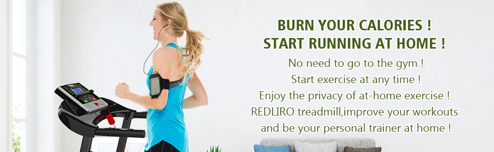 Burn your Calories! Start Running At Home! No need to go to the gym!