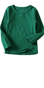 Toddler Comfort Basic Long Sleeve T-Shirt Tops