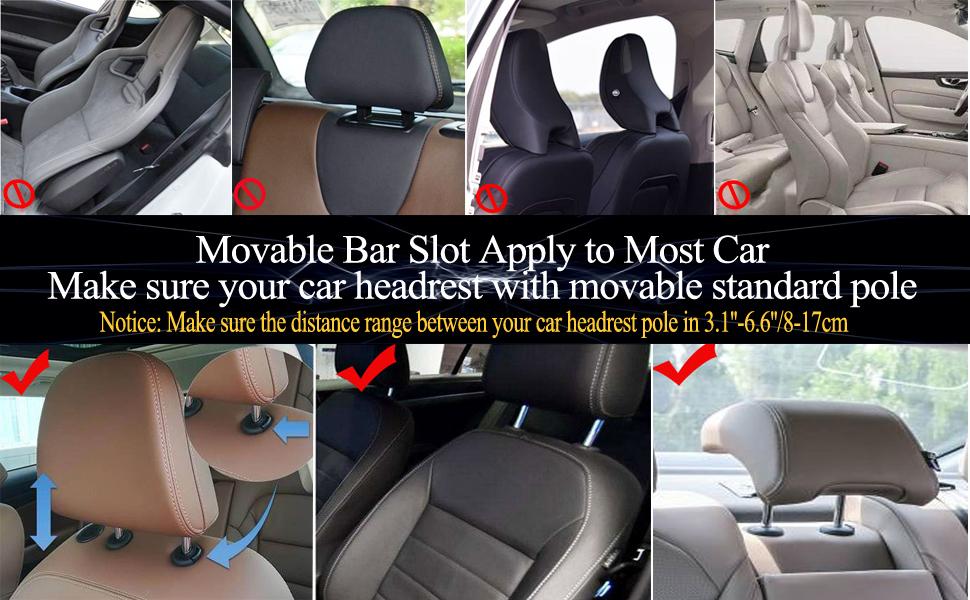 car seat headset pillows