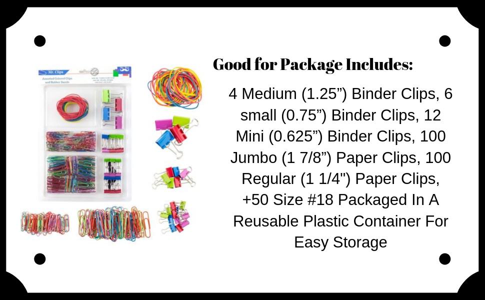 Mr. Pen- Assorted Colored Binder