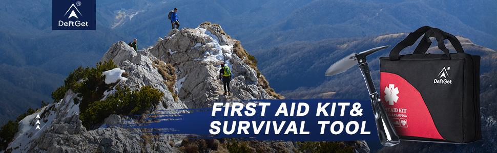 deftget first aid kit & Survival Tools