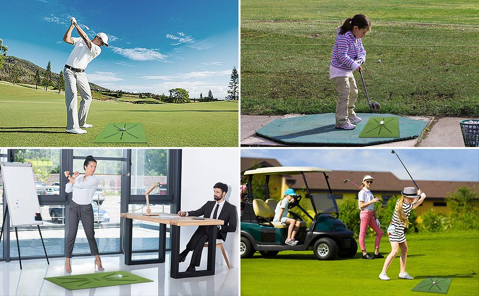 golf traing mat