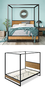 Suzanne Ironline Canopy Bed
