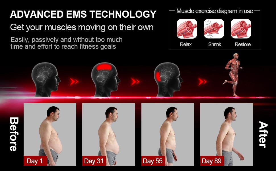 Abs Stimulator,Muscle Toner