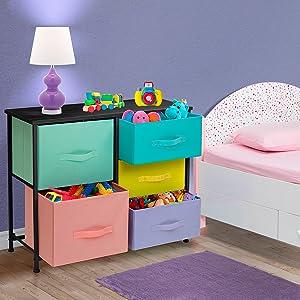 set of 4 I love America Nursery Ceramic Knob Pulls Decorated Drawer Dresser 1036