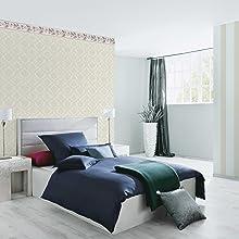 bedroom classic wallpaper border wall décor ceiling trim