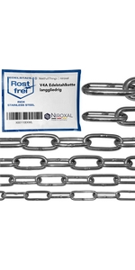 V4A roestvrijstalen ketting met lange schakels