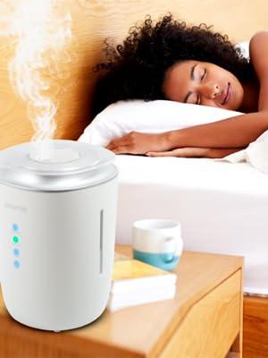 humidifier bedroom warm mist