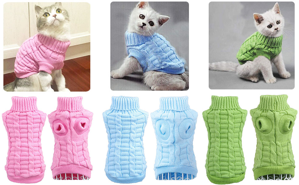 dog cat cloth sweater for cats small dogs