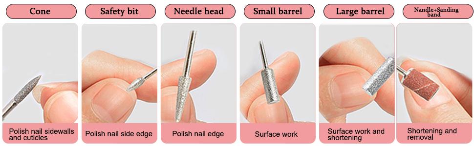 Nail File Kit for Acrylic Nails