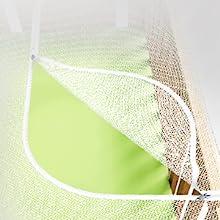 mosquito net crib open part