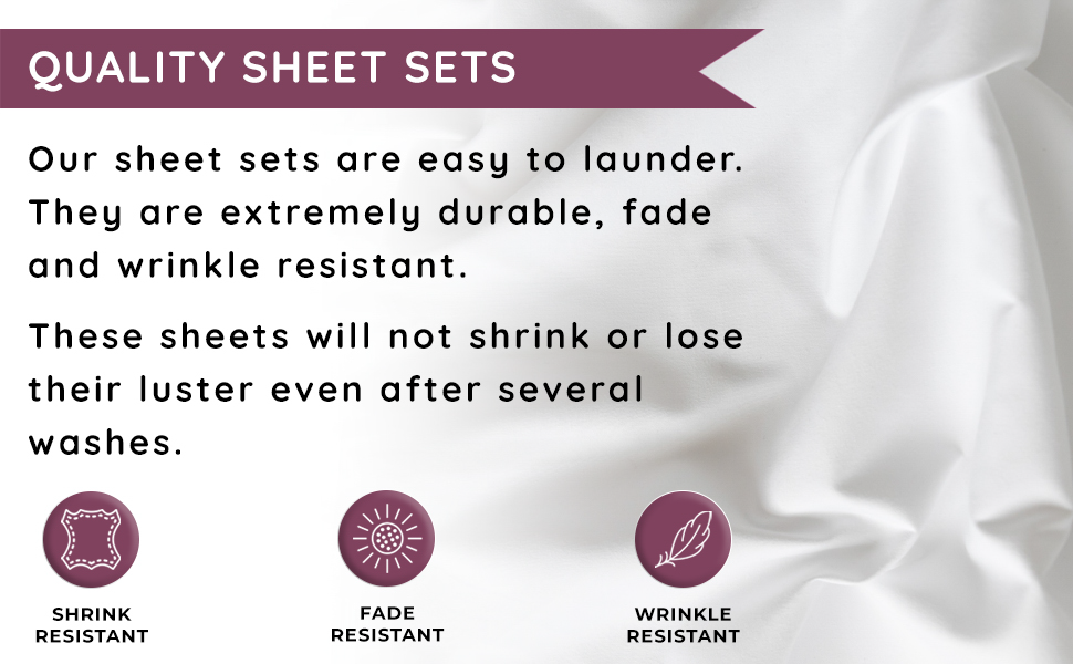 quality sheet sets