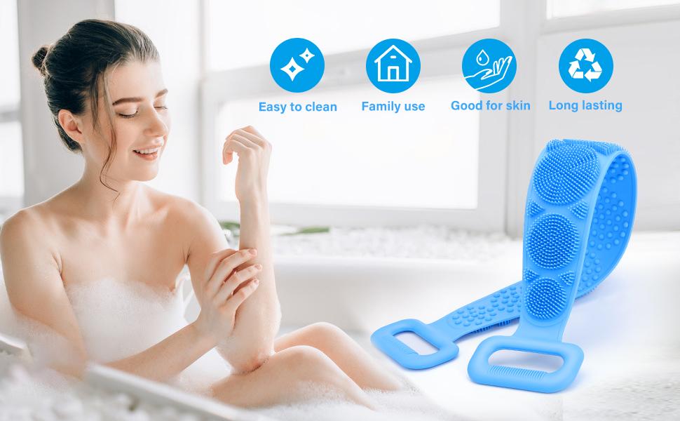 exfoliating body scrubber