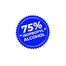 75% alcohol, sanitizer