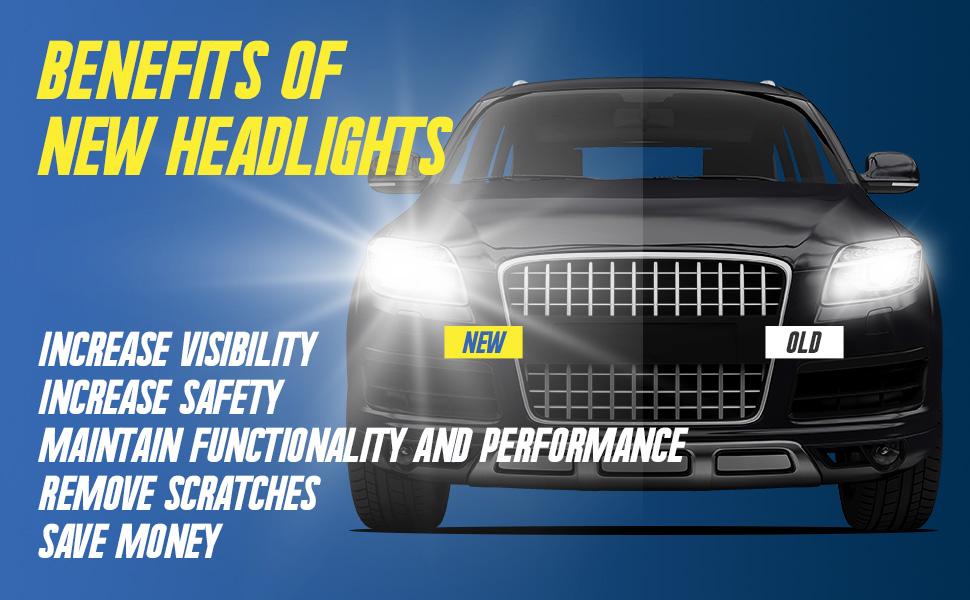 benefit headlights headlight head light lights