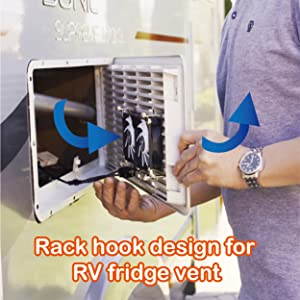 RV fridge vent