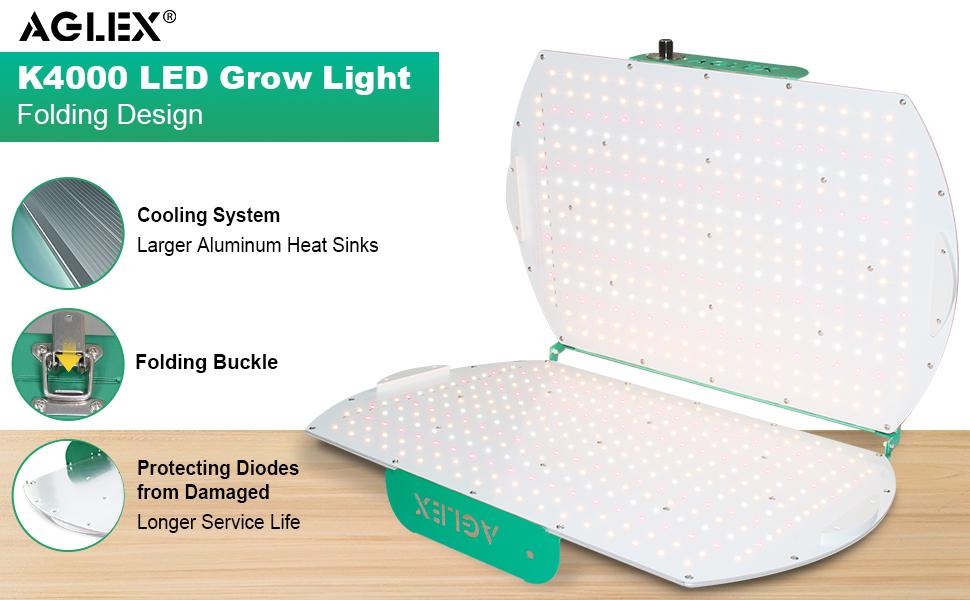 foldable grow light